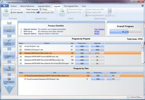 VBUC 5 Beta User interface